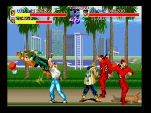 FINAL FIGHT - 2 PLAYER (ARCADE / PS2 - FULL GAME) - YouTube