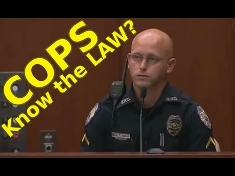 Thumbnail: Why COPS Don't KNOW THE LAW