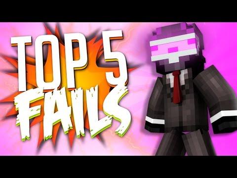 TOP 5 FAILS EN MINECRAFT CON EPIC FAIL!! | SEMANA 8