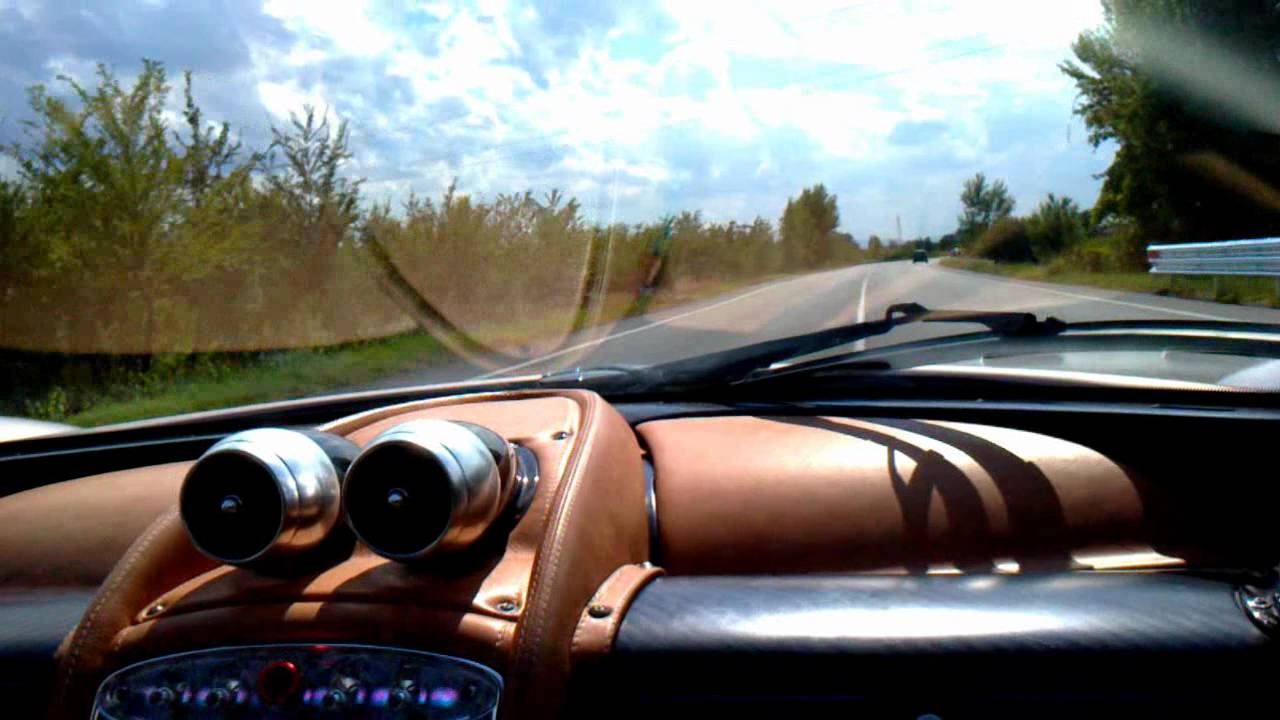 Pagani Huayra brutal acceleration! - YouTube