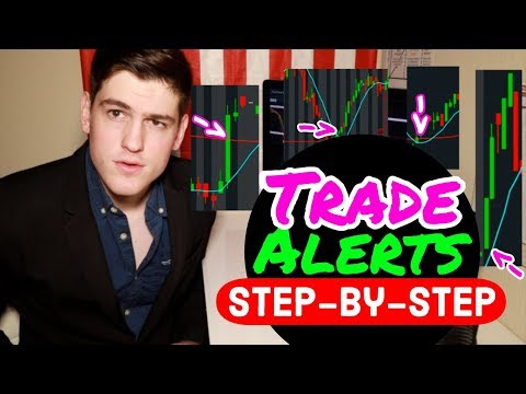 Trade Alerts: How To Set INDICATOR Alerts On ThinkorSwim 🚨