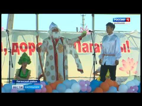 В селе Джалыково Лаганского района состоялся первый фестиваль лотосов