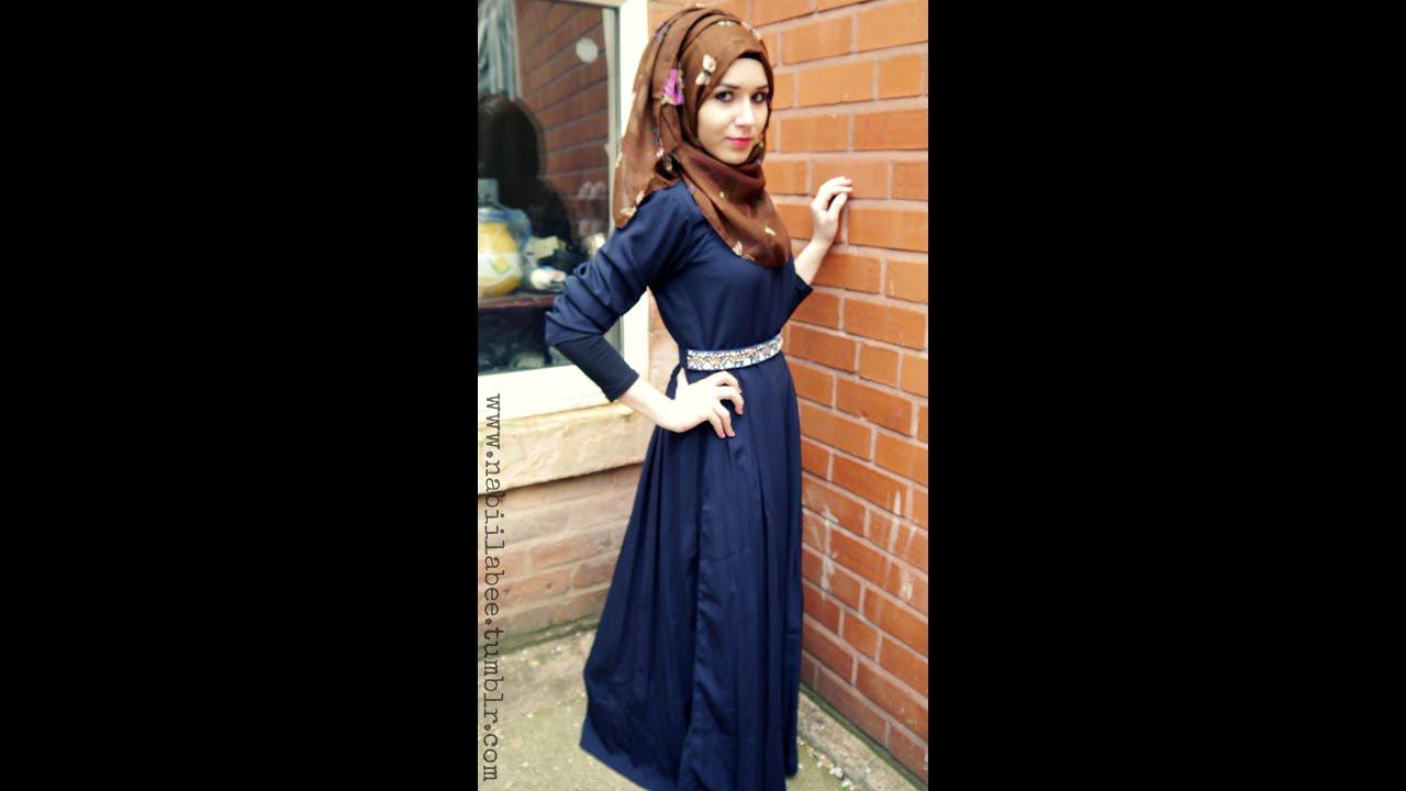 OOTD l Ash Shams abaya&scarf - YouTube