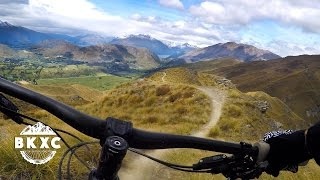 Mountain Biking on Coronet Peak near Queenstown, New Zealand, with Sacred Rides