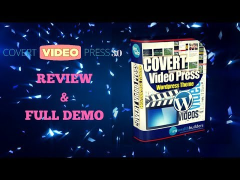 Covert Video Press 3 0 Review & Full Demo. http://bit.ly/2ZzwOCD