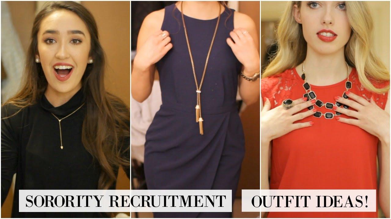 2019 year for women- University miami sorority recruitment what to wear