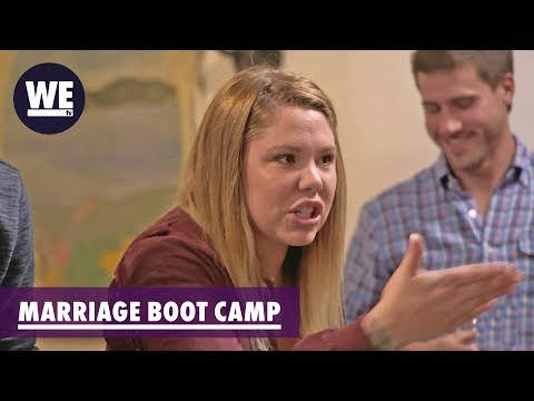 Everyone Shut Up! | Marriage Boot Camp: Reality Stars | WE tv