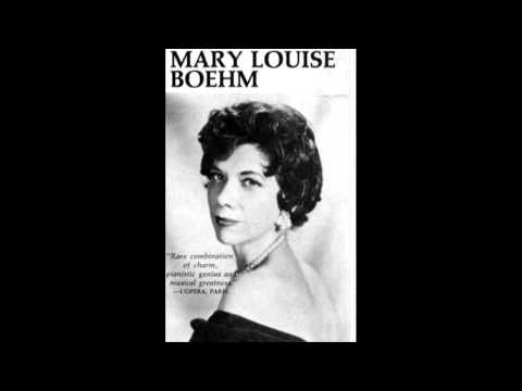 Mary Louise Boehm plays Field Nocturnes (Nos. 1 - 11)