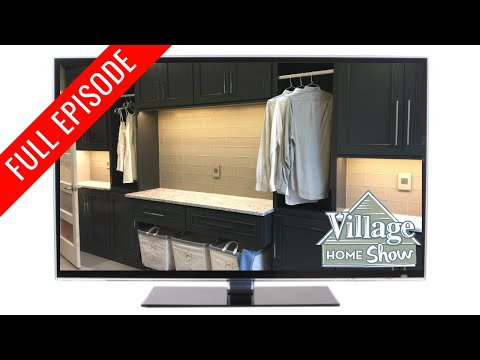 Remodeled Laundry Room with DuraSupreme Maytag and Cambria S2E5