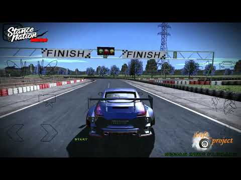 GTA SA Android ~ Drifting Of 370Z Fairlady Featuring Track Gokart Route 2