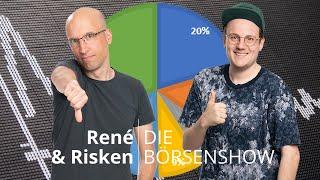 """Rein oder raus? Der Depot-Check bei """"René und Risken"""""""
