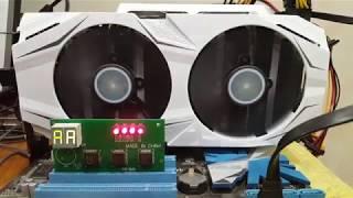 Ремонт відеокарти Asus GTX 1070 Dual