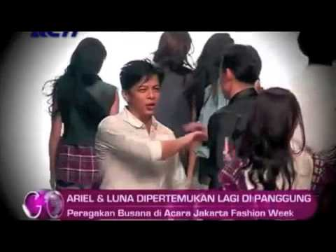 Video reuni Ariel dan luna maya