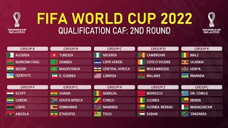 African Draw of FIFA World Cup Qatar 2022: Second Round