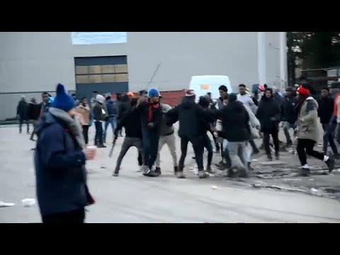 Calais: Schüsse unter Migranten