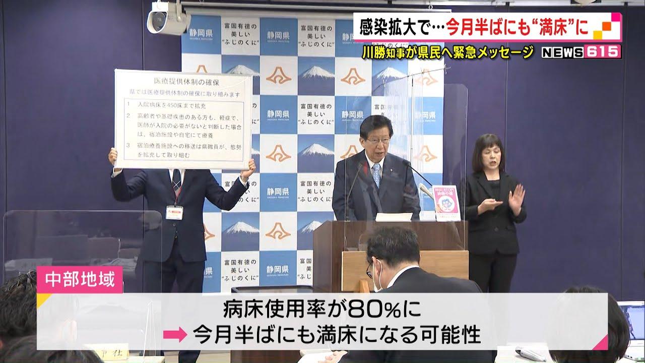 知事 静岡 県