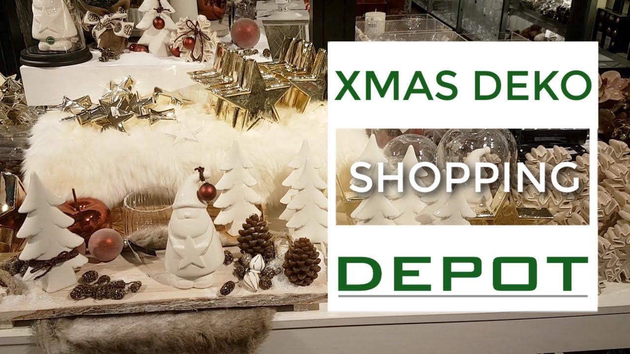 Depot Weihnachtsdeko.Weihnachtsdeko 2018 Shop With Me Bei Depot I Dekotrends Und Inspiration
