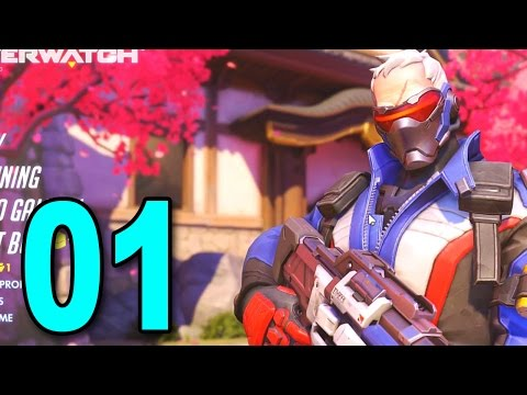 Overwatch - Part 1 - THIS GAME IS AWESOME! (HD PC Gameplay)