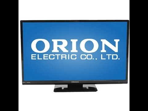 Orion 24 Quot Led Lcd Hdtv Sled2468w Unboxing Youtube