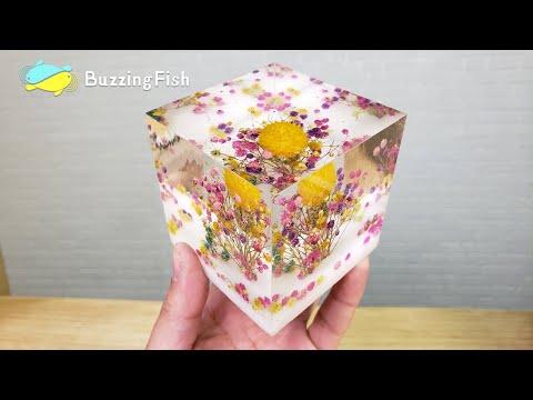 EASY DIY. 🌼 Dried Flowers in Resin Decor 🌼 | Resin Art
