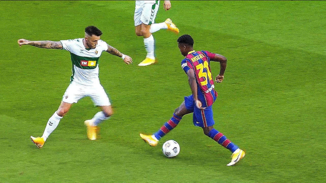 Download 17 Year-old Ansu Fati Played so good vs Elche   2020