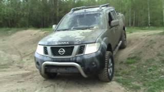 Navara D40 / Pathfinder R51 / test of new tires MT