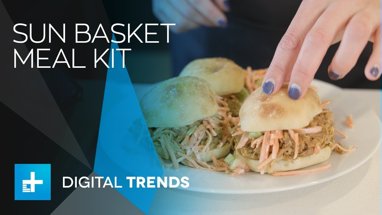 Sun Basket Meal Kit - Hands On Review - YouTube