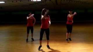 Dance fitness -La Noche Esta De Fiesta Aka Hoy Si Que Se Bebe (feat.3BallMTY- J King y Maximan