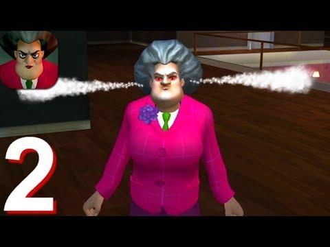 Scary Teacher 3D Walkthrough Part 2 (Android IOS Gameplay) | Pryszard Gaming