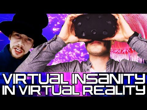 """Virtual Insanity"" Performed in Virtual Reality Jamiroquai"