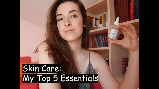 Skin Care Essentials: mỳ Top 5 Favorite Products (Greek with English Subs)