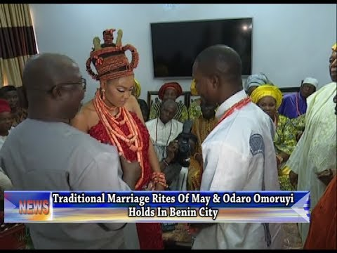 Traditional Marriage Rites Of May And Odaro Omoruyi Holds In Benin City