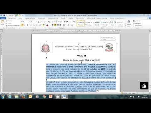 Видео Relatório Bimestral das atividades desenvolvidas