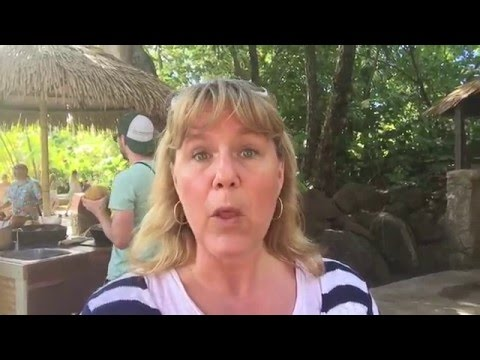Patti Honacki explores the FOOD options at the Polynesian Cultural Center  video for 5-10-16