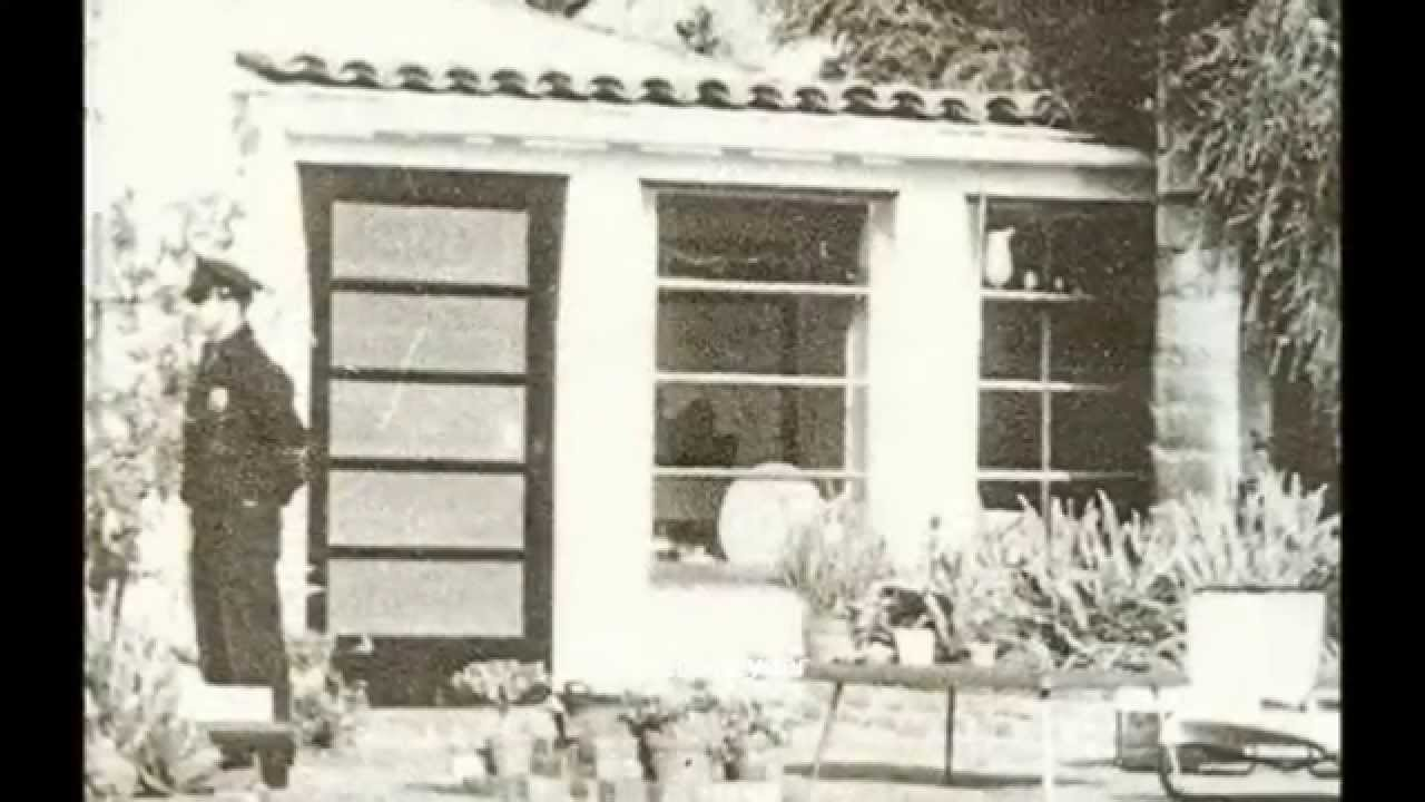 Marilyn Monroe House In Brentwood marilyn monroe - 12305 fith helena drive, brentwood 5th aug 1962