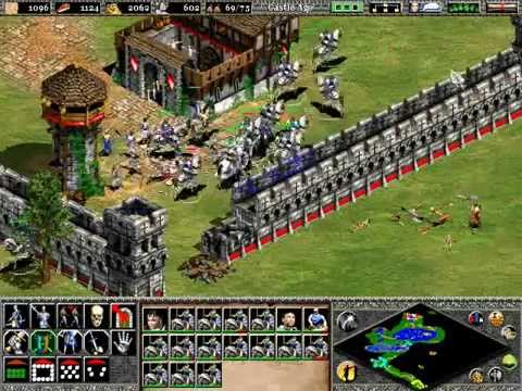 Age of Empires 2 Gameplay - The Maid of Orleans