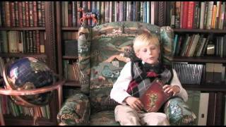 Luke the Boy Book Critic reports on Behind the Mist