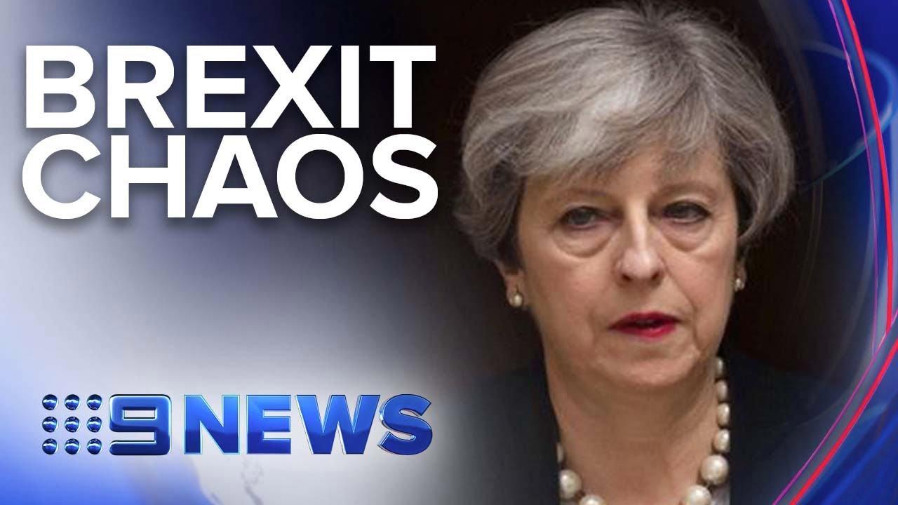 UK PM Theresa May expected to resign | Nine News Australia