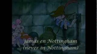 Not in Nottingham (Robin Hood) - Spanish subs & trans