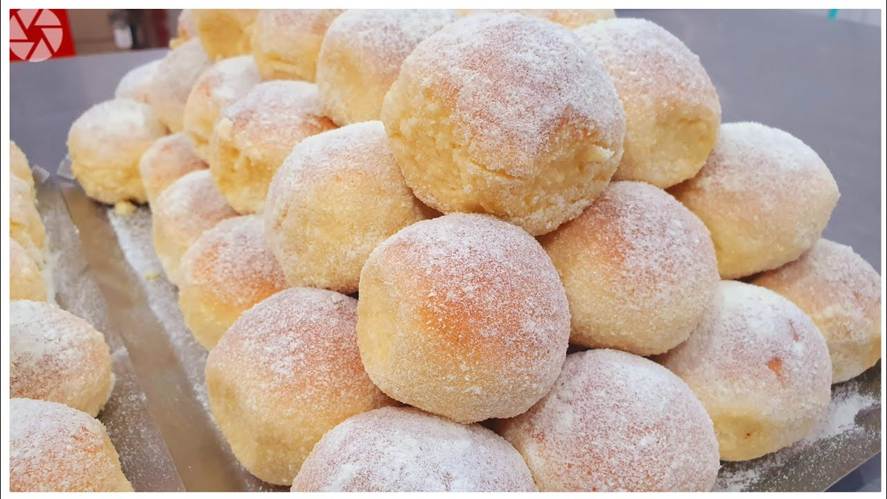 Mini pão de ninho uma delícia que derrete na boca