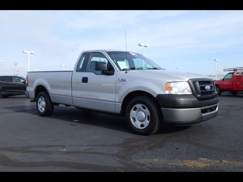 2008 ford f 150 xl regular cab for sale dayton troy piqua sidney ohio cp14733at youtube. Black Bedroom Furniture Sets. Home Design Ideas