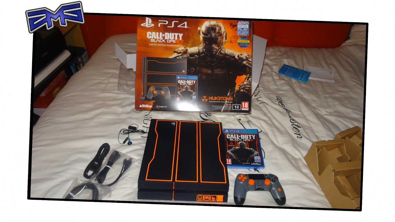 Unboxing Limited Edition Call Of Duty Black Ops 3 Ps4 Bundle