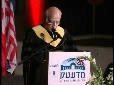 Technion 2012 Honorary Doctorate Conferment Ceremony