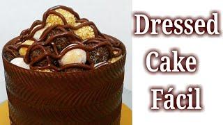 Como fazer Dressed Cake Ideal para Iniciantes e Decoração Masculina e Aniversários