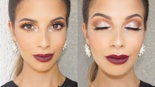 Vampy Fall Makeup Tutorial 2015