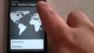 IMEI Carrier Unlock Iphone 4 without Itunes. Activate using T Mobile sim and Wi Fi. Reset Phone.