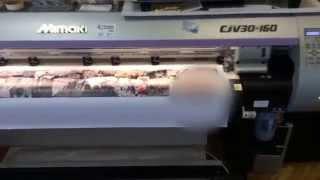 Интерьерная печать на банеере(Интерьерная печать на баннере 440 гр. с разрешением 720 dpi, принтер Mimaki CJV30-160., 2014-08-17T06:33:18.000Z)