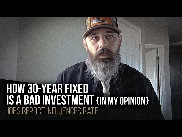 How 30-year fixed is a bad investment