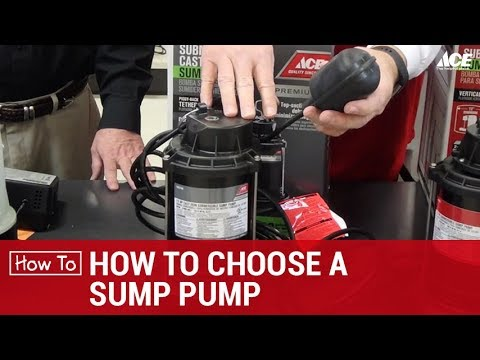 How To Choose A Sump Pump - Ace Hardware