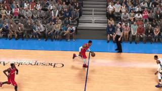 NBA 2K14: Shamgod Move+Ankle Breaker